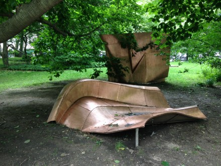 Danh Vo, We The People (2010-2014) at City Hall Park