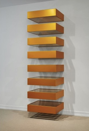 Donald Judd, Untitled (Bernstein 90-14) (1990) via Mnuchin Gallery