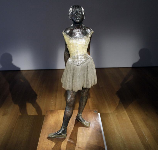 the little fourteen year old dancer sculpture description Degas and the dancer  the little fourteen year old dancer  tell your child that the statue of this little girl changed the course of sculpture.