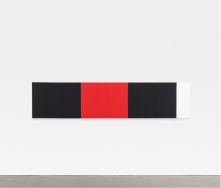 "Ellsworth Kelly, ""Four Panels"" (2012) via Matthew Marks gallery"