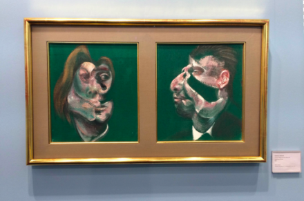 Francis Bacon at Acquavella, via Art Observed