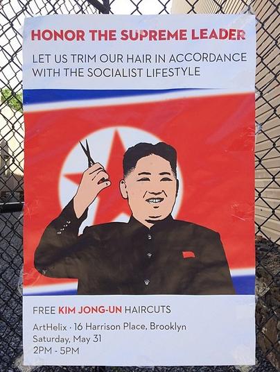 Free Kim Jong-Un Haircuts