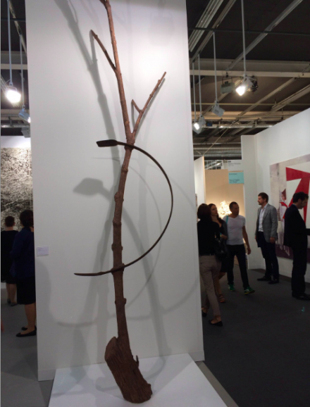 Giuseppe Penone at Marian Goodman, via Art Observed