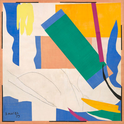 Henri Matisse, Memory of Oceania, (1952-1953) via Museum of Modern Art