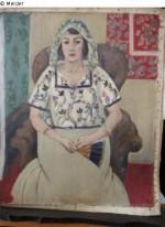 Henri Matisse's Femme Assise, via Art Newpaper
