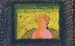 Howard Hodgkin, Bust of Paul Levy, via The Telegraph