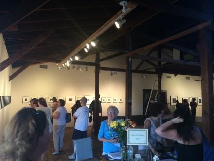 Inside an Exhibition During Rockaway! Festival, via Art Observed