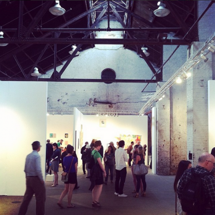 Inside the NEWD Art Fair