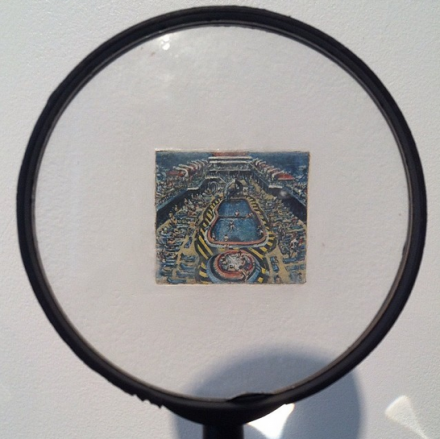 James Sheehan's Miniature work at Harbor Gallery