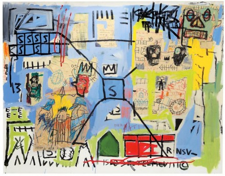 Jean-Michel Basquiat, Unttitled (1981), By Kent Pell:from The Schorr Family Collection © The Estate Of Jean-Michel Basquiat, ADAGP, Paris/ARS, New York 2014