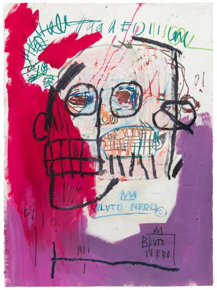 Jean-Michel Basquiat, Unttitled (Bluto Nero) (1982), By Kent Pell from The Schorr Family Collection © The Estate Of Jean-Michel Basquiat, ADAGP, Paris/ARS, New York 2014