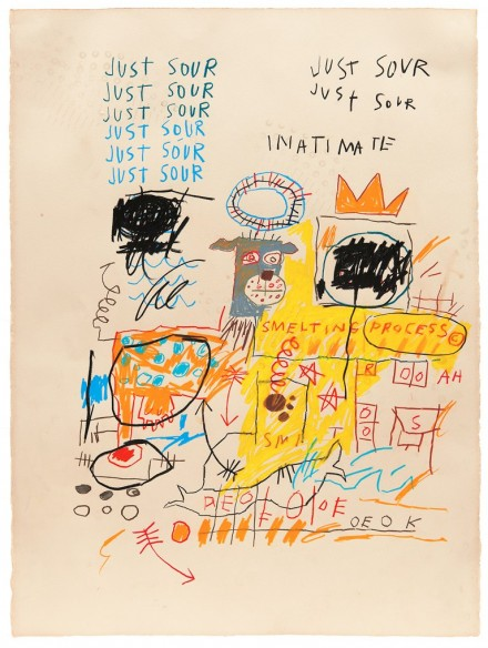 Jean-Michel Basquiat, Unttitled (Just Sour) (1982), By Kent Pell from The Schorr Family Collection © The Estate Of Jean-Michel Basquiat, ADAGP, Paris/ARS, New York 2014