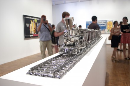 Jim-Beam-J.B.-Turner-Train-By-Jeff-Koons-at-The-Whitney