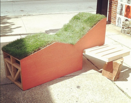 Jim Osman's Grassy Lounge Chair