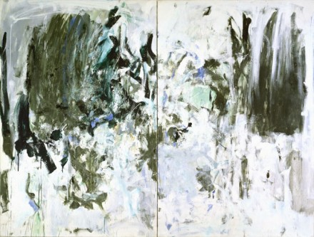 Joan Mitchell, Cypresses (1975), via Cheim and Read