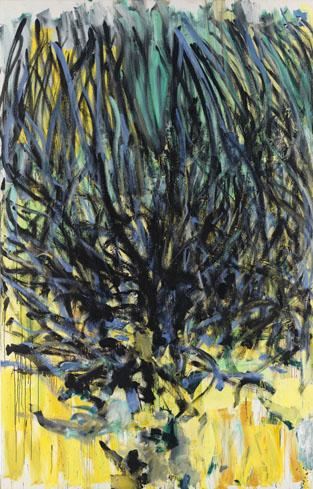 Joan Mitchell, Tilleul (Linden Tree) (1978), via Cheim and Read