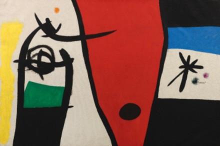 Joan Miró, Femme à la voix de rossignol dans la nuit (1971) via Christie's