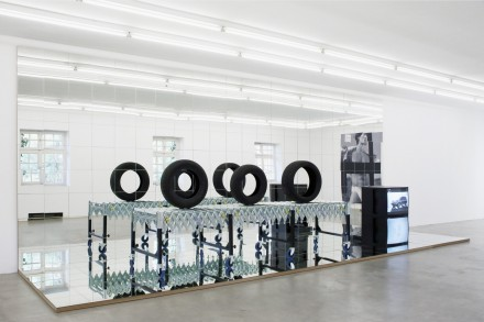 Josephine-Meckseper-at-Andrea-Rosen-Art-Basel