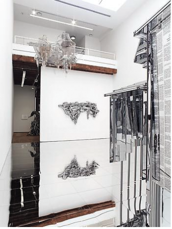 Lee Bul, (Installation View) via Lehmann Maupin Gallery