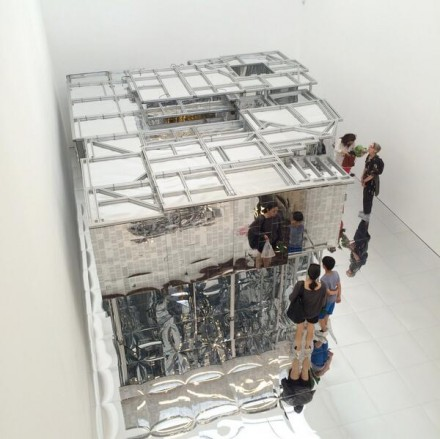 Lee Bul, Via Negativa II (2012), via Art Observed