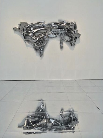 Lee Bul, Untitled sculpture (M5) (2014), via Art Observed