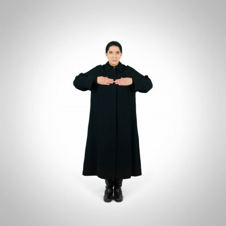 Marina Abramović at the Press Conference