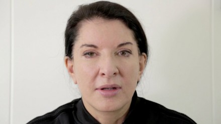 Marina Abramović in the Promotional Video of the Performance
