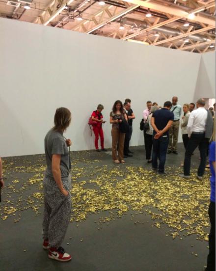 Matias Faldebakken, 20,000 Gun Shells at Art Unlimited