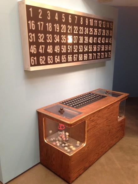 Mika Rottenberg, Bowls Balls Souls Holes (Bingo) (Installation View), via Osman Can Yerebakan