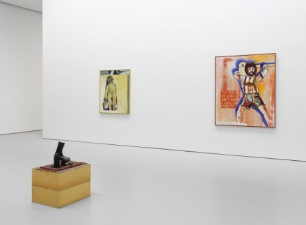 No-Problem: Cologne/New-York 1984-1989 at David Zwirner (Installation View) Courtesy of David Zwirner, New York/London