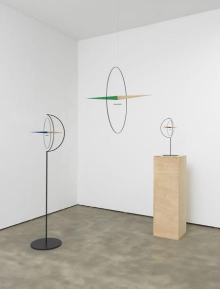 "Olafur Eliasson, ""Compass family"" (2013) via Tanya Bonakdar gallery"
