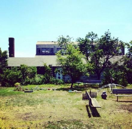 On-site at Fort Tilden for the Rockaway! Festival, via Art Observed