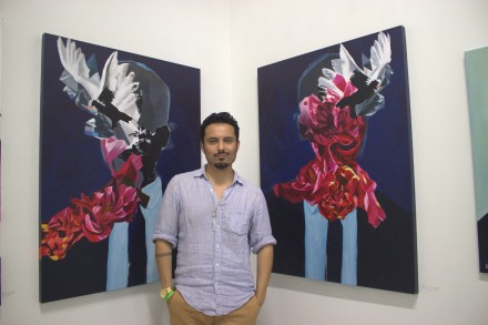Paintings by Luis-Martin at Brooklyn Brush Studios