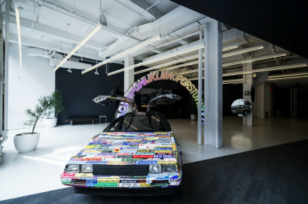 Peter Coffin, LIVING (Installation View), via Red Bull Studios