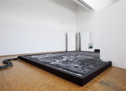 Pierre Huyghe, L'Expédition scintillante, Act III (Black Ice Stage) (2002), via Museum Ludwig