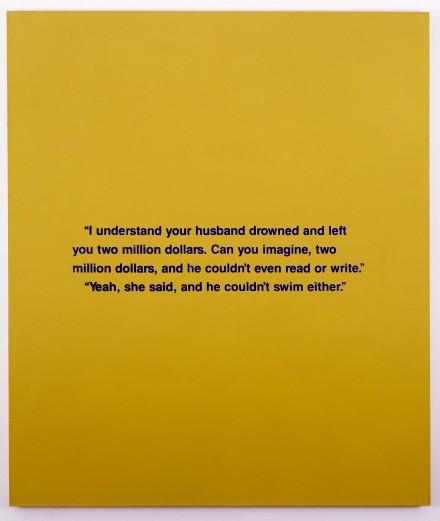 Richard Prince, Can You Imagine (1988), Courtesy of David Zwirner, New York:London
