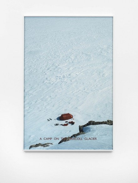 Richard Long, A Camp on the Driscoll Glacier (2012), Lisson Gallery