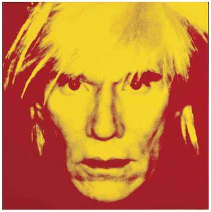 Andy Warhol, Self-Portrait, via Christie's