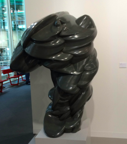 Tony Cragg at Marian Goodman, via Art Observed