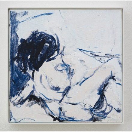 "Tracey Emin, ""Happy in Love"" (2013) via Lehmann Maupin"