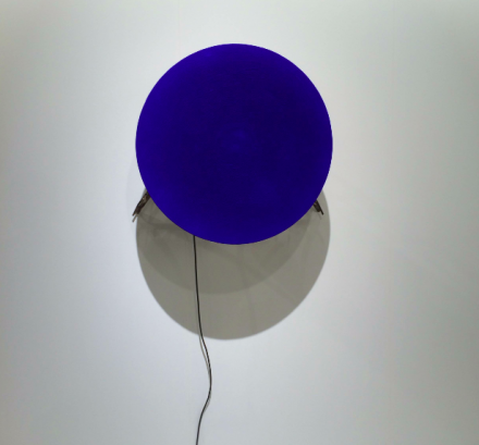 Yves Klein and Jean Tinguely at Hauser and Wirth, via Art Observed