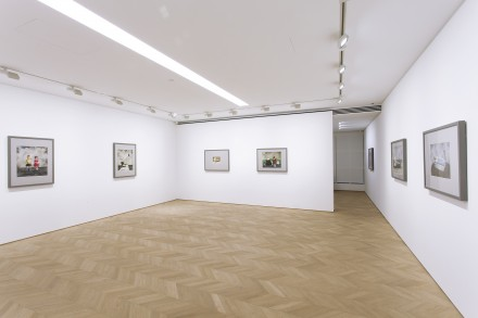 Zhang Xiaogang at Pace Hong Kong (Installation View) Courtesy of Pace Hong Kong