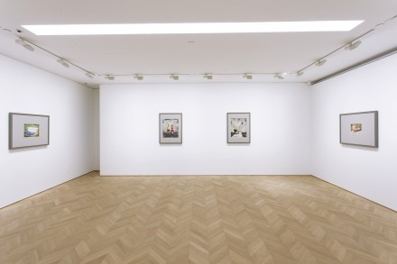 Zhang Xiaogang at Pace Hong Kong (Installation View) Courtesy of Pace Hong Kong