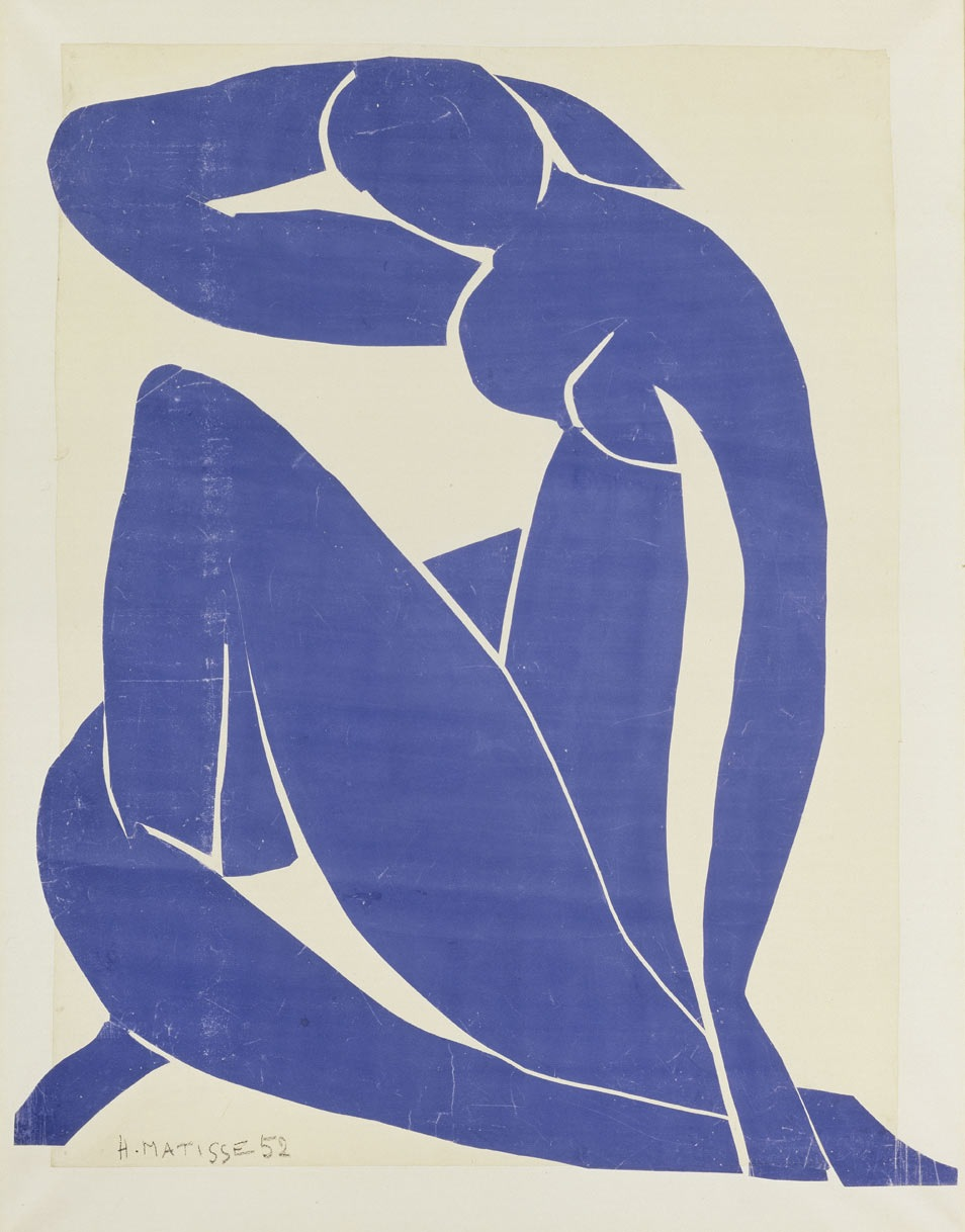 london henri matisse the cut outs at the tate modern through henri matisse blue nude ii 1952 via the tate