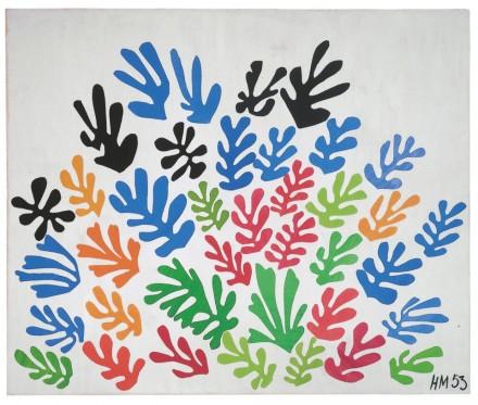Henri Matisse, The Sheaf (1953) via The Tate