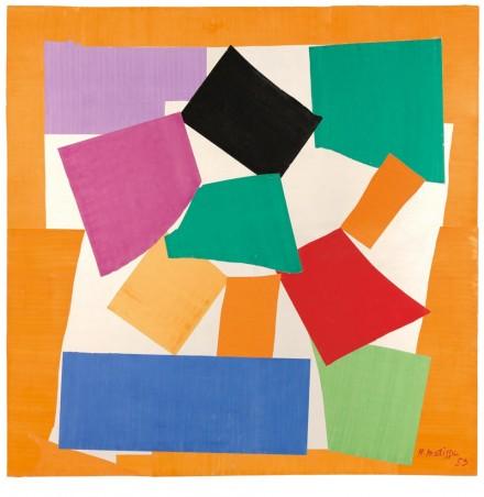 Henri Matisse, The Snail (1953) via The Tate
