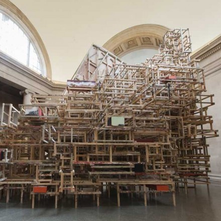 Phyllida Barlow at Tate Britain (Installation View), all images via Tate Britain