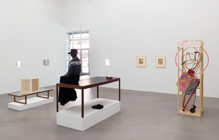 A Machinery For Living (Installation View), courtesy Petzel Gallery