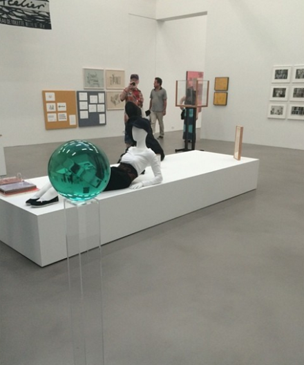 A Machinery for Living at the Petzel Gallery, installation view, via Art Observed