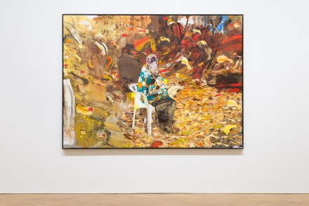 Adrian Ghenie, Charles Darwin at the age of 75, 2014 ©Adrian Ghenie Courtesy of The Pace Gallery